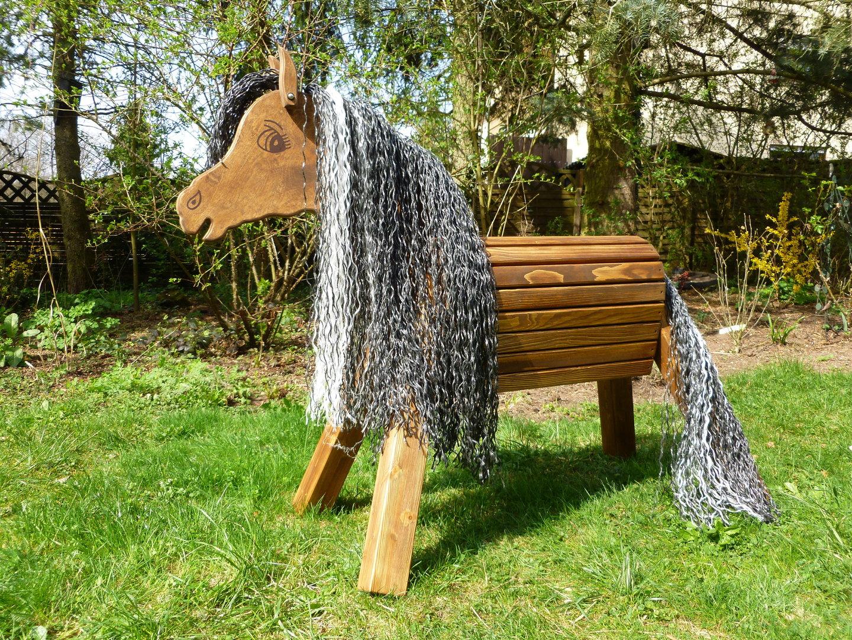 70cm holzpferd braun mit gesicht maul blesse und str hnchen zauberhafte holzpferde. Black Bedroom Furniture Sets. Home Design Ideas